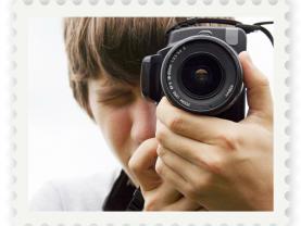 Postimerkkikuva valokuvaajasta